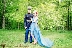 There is no love greater than the love of a military man, and the woman he's fighting for. #usmc #love #militaryso #prom