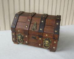 Men's Treasure Chest Vanity Box Men's by VintageSouthernPicks