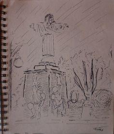 Arte Moderna e Contemporânea: Cristo Rei, parque de Santa Maria de Lamas