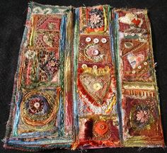 Mixed media made with fabric. Wow!