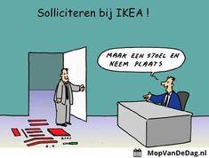 Solliciteren bij IKEA