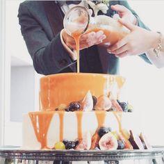 やりたいこと #カラードリップケーキ #結婚式 #ウェディング