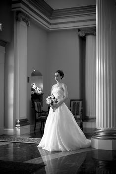 Available light, a beautiful bride, and an attractive hotel lobby.  Even though it was a rainy day, I got the photos I wanted!