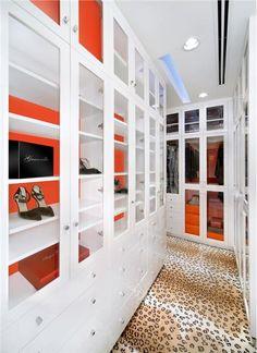Elegant Contemporary Bedroom by Jamie Herzlinger on HomePortfolio