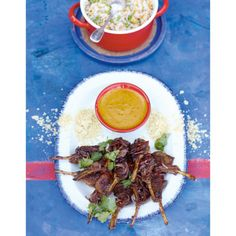 Lamb Lollipops, Curry Sauce, Rice & Peas | A Culinary Affair with Jamie