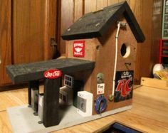 Gas Station / Service staion Birdhouse