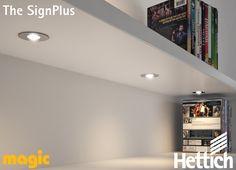 The Hettich Group is one of the world's leading manufacturers of furniture fittings. Led Light Design, Lighting Design, Aesthetic Value, Living Room Lighting, Ceiling Lights, Latest Technology, Spotlight, Flexibility, Design Ideas