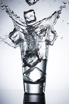 How to Light a Glass for Great Splash Photography via @SLRLounge