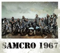 Sons of Anarchy SOA - SAMCRO