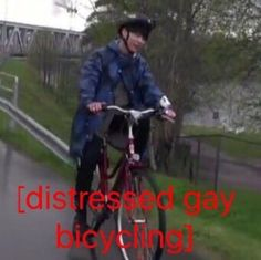 I'm pinning this from a dank meme board but I just wanted to mention that I am like sure that this is Jimin.>>>thats jimin when they went bicycling in finland during bon voyage season 2 it was in the latter episodes Dead Memes, Dankest Memes, Jokes, Baguio, Bike Meme, Cursed Images, Hilarious, Funny, Reaction Pictures