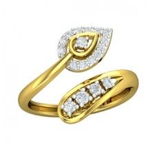 Diamond Ring 0.25 CT / 2.80 gm Gold