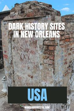Dark Travel in New Orleans, things to do in New Orleans, Spooky things to do in New Orleans, ghost tours in the French Quarter, things to do in the french quarter New Orleans, French Quarter history, tours in New Orleans, cemeteries in New Orleans, Voodoo history in New Orleans, Marie Laveau's House of Voodoo, Voodoo Queen of New Orleans, things to do in NOLA, wanderingcrystal, haunted places to visit in New Orleans, vampires in New Orleans, St Louis Cemetery No 1 #NewOrleans #DarkTravel… St Louis Cemetery, Stuff To Do, Things To Do, Marie Laveau, New Orleans Travel, Ghost Tour, Haunted Places, French Quarter, Places To Visit