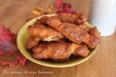 Friandises du peuple nain: croissants au fromage et noix de pécan