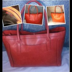Merona large handbag Merona large handbag ,, inner zipper ripped. But good for traveling Merona Bags Travel Bags