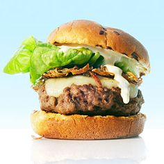 Idaho Lamb Burgers | MyRecipes.com