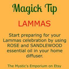 Lammas - Magick Tip - Click through to visit The Mystic's Emporium on Etsy!