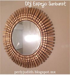 "The mirrors ""Sunburst"" and ""Starbust"" are very fashionable, there are ."