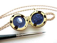 Miniature Astronomy Lockets That Hide The Universe Insid