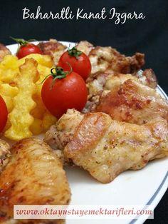 Baharatlı Kanat Izgara - Oktay Usta Yemek Tarifleri
