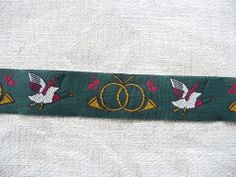 Webband,Borten,Bänder,Polyester,Rebhuhn, Horn, 2cm, Olive,Gold, Rot,Weiß,Schwarz
