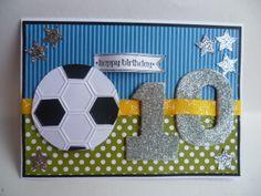 10, ten, birthday card using Stampin Up!