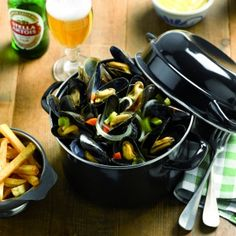 Mussels with Belgian Fries