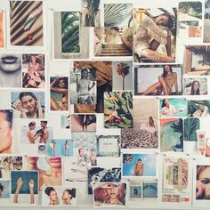 Chez Glossier à New York - Lili Barbery My New Room, My Room, Babe Cave, Inspiration Wall, Glossier, Dream Rooms, Wall Collage, Photo Wall, Picture Wall