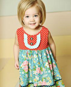 Matilda Jane ~ Good Hart Collection ~ RED SCHOOL DRESS
