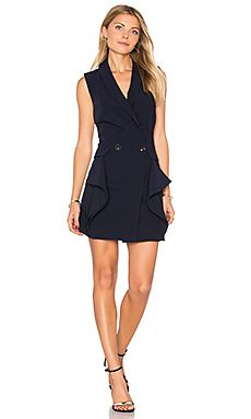 Shop for Endless Rose Sleeveless Tuxedo Mini Dress in Navy at REVOLVE. Free 2-3 day shipping and returns, 30 day price match guarantee.