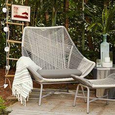 Huron Large Lounge Chair + Cushion – Gray - Epic Home Decoration Ideas Rustic Furniture, Garden Furniture, Home Furniture, Modern Furniture, Furniture Design, Outdoor Furniture, Antique Furniture, Furniture Storage, Furniture Ideas
