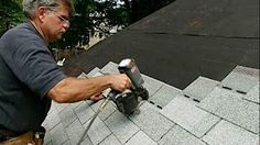 How to remove shingles to do a repair - YouTube