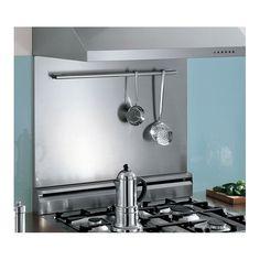 """48"""" Range Backsplash & Utensil Bar - Easy to clean"""