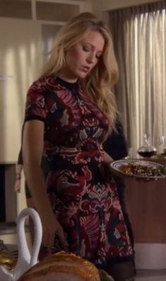 """Everything Serena Ever Wore on """"Gossip Girl"""" – You Know You Love Fashion Anthropologie Apron, Gossip Girl Serena, Dress Bra, Gossip Girl Fashion, Still Love Her, Girls Wardrobe, Blake Lively, How To Look Pretty, Pretty Dresses"""