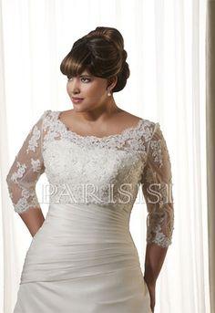 Plus Size Bridal Wear Collection, Plus Size Wedding Dress Sale price USD $184 - PARISISI ONLINE DISCOUNT SHOP