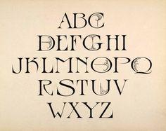 Art Nouveau Text