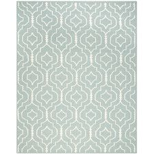 Masaryktown Hand-Woven Light Blue/Ivory Area Rug