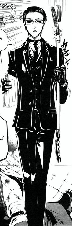 (Kuroshitsuji/Black Butler - William T. Spears) Manga full-length. Clickthrough for full outfit breakdown!