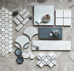 W H I T E as snow on this frosty Melbourne night Some of our favourite whites styled by Mood Board Interior, Interior Design Boards, Interior Design Living Room, Pink Tiles, Material Board, Fashion Logo Design, Tile Design, Web Design, Design Ideas