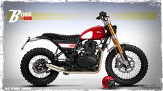 #BOOR 500#special scrambler#royal enfield#street tracker#special motorcycles#