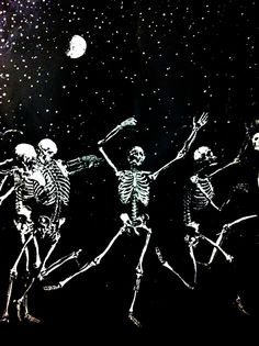 Happy danse....sometimes I encounter toss-ups...Grateful Dead or Dia de Los Muertos?