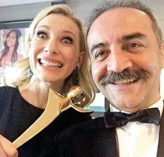 Cate Blanchett & Yılmaz Erdoğan