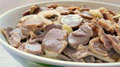 Куриные желудочки маринованные в соевом соусе пикантные и невероятно вкусные
