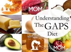 Understanding The GAPS (Gut and Psychology Syndrome) Diet | The Snap MomThe Snap Mom  Our journey to implementing the GAPS diet started when my now 5-year-old was just a year old. She was born with multiple sensory issues, low muscle tone, and some minor developmental delays. I began reading about SPD (sensory processing disorder) and autism and how it's related to a damaged gut.
