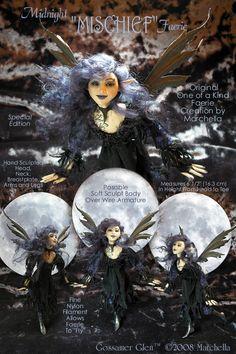 She looks like Helena Bonham Carter! I love it!  gossamerglen.com