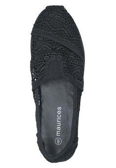 black celeste crochet flat - maurices.com
