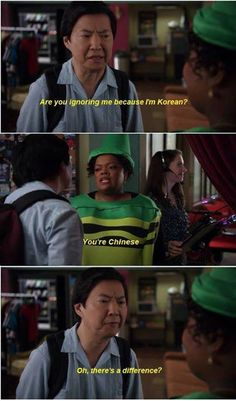 "Community... Reminds me of the running joke about Gary on Walking Dead ""He's Korean!"" ""Whatever"" #lol #funny #humor"