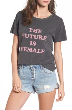 The Future is Female Graphic Tee #graphictee #futureisfemale  #shopping #onlineshopping #Nordstroms