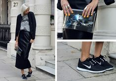 20a179816846 Zara Bomber Jacket and Avelon Leather Skirt at