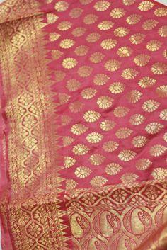 Pink shade  Benarasi  Silk Saree