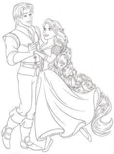 Disney Rapunzel Princess Coloring Pages 14 Cakepins Com Disney